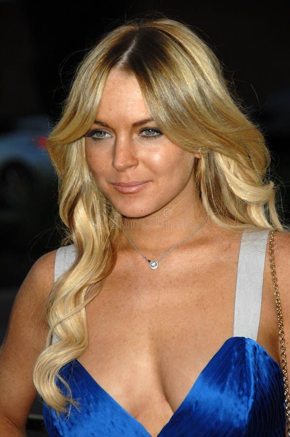 Lindsay Lohan royaltyfria bilder