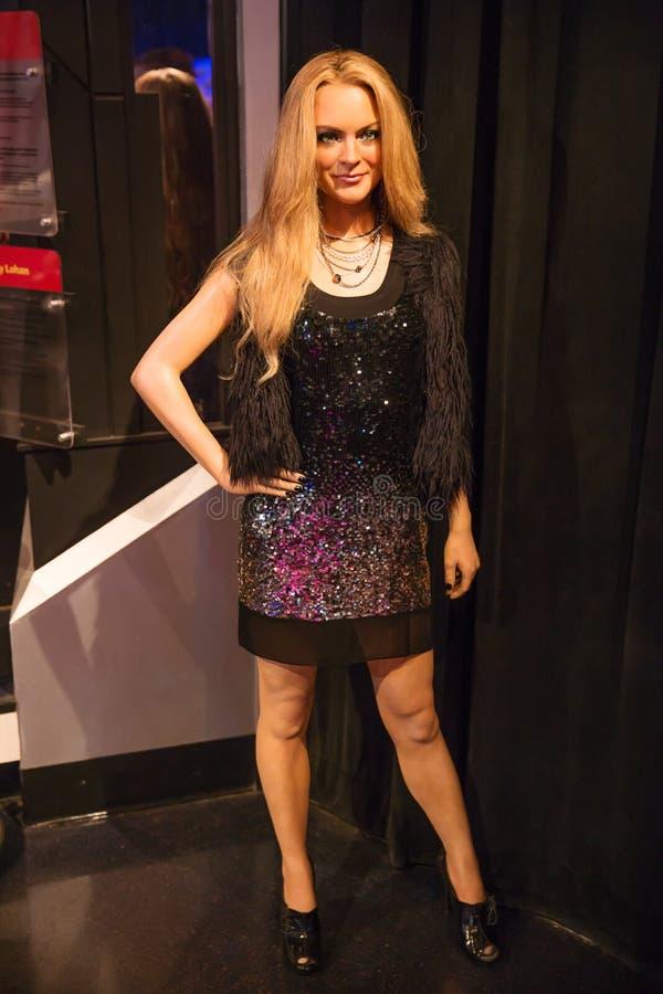 Lindsay Lohan foto de stock