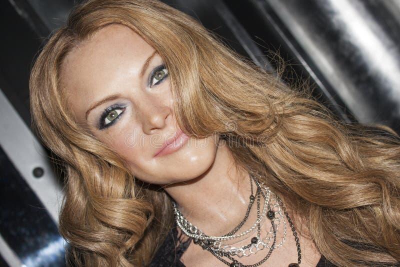 Lindsay Lohan foto de stock royalty free
