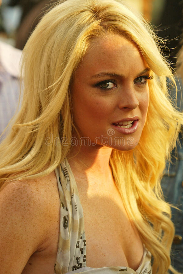 Download Lindsay Lohan editorial photography. Image of auditorium - 30726352