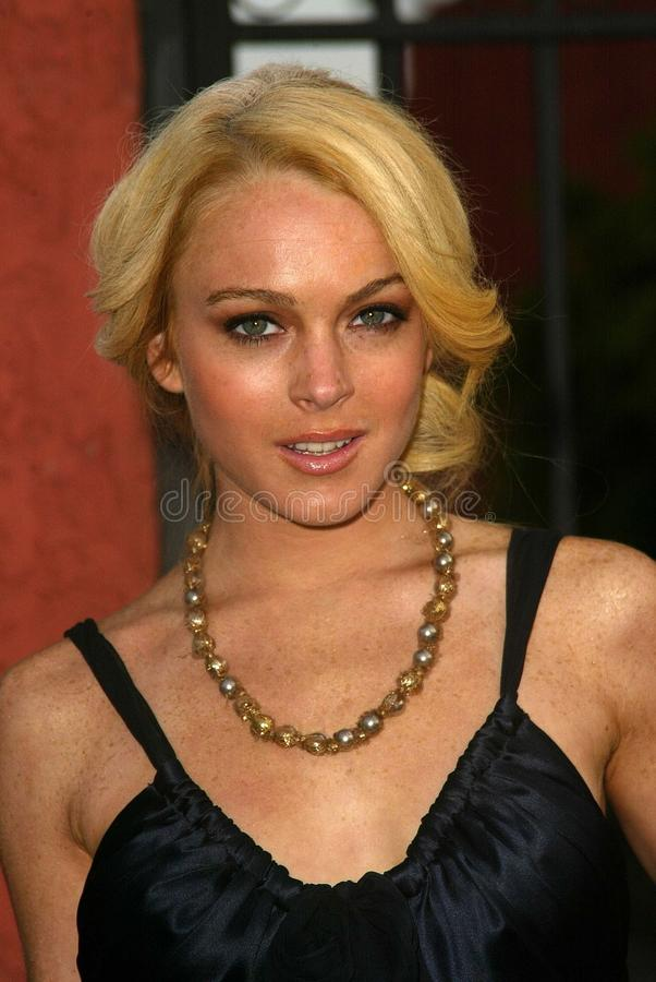 LINDSEY LOHAN images stock