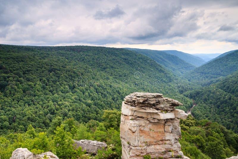 Lindy Point Blackwater Canyon West Virginia fotografía de archivo libre de regalías