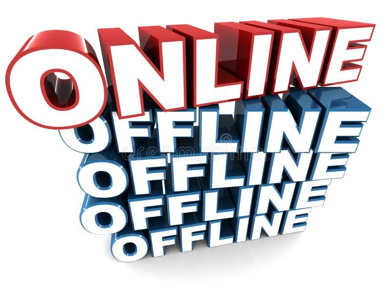 On-line και off-$l*line διανυσματική απεικόνιση