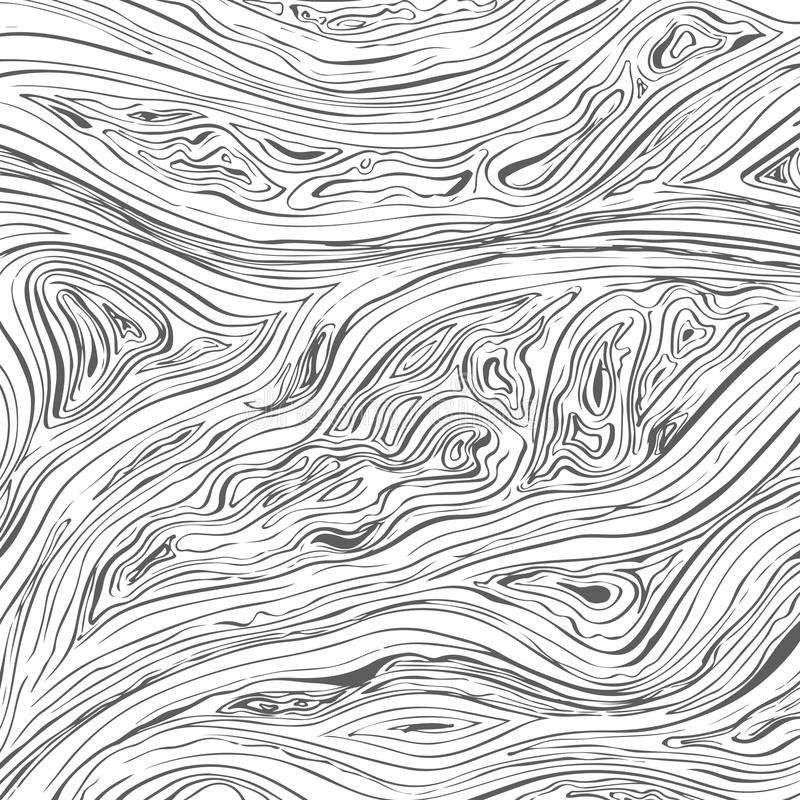 Line background. Vector texture with hand drawn ink wavy strokes. stock illustration