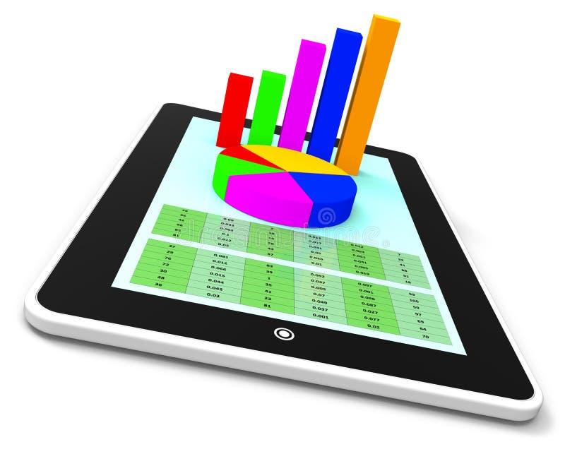 On-line-Bericht bedeutet World Wide Web und Analyse vektor abbildung