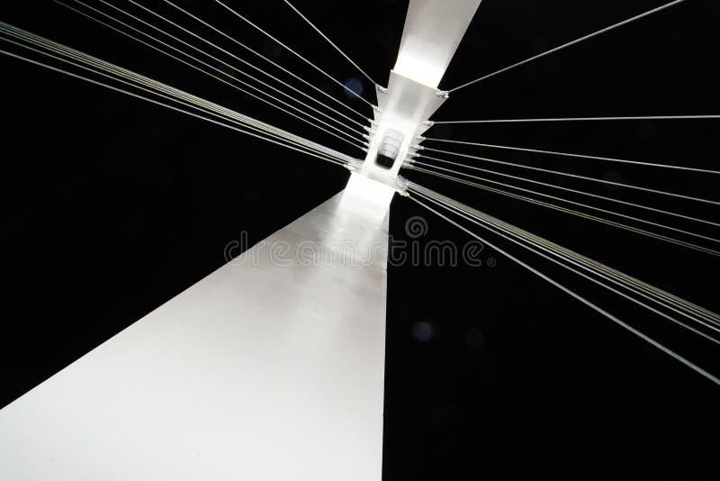 Line bridge royalty free stock image