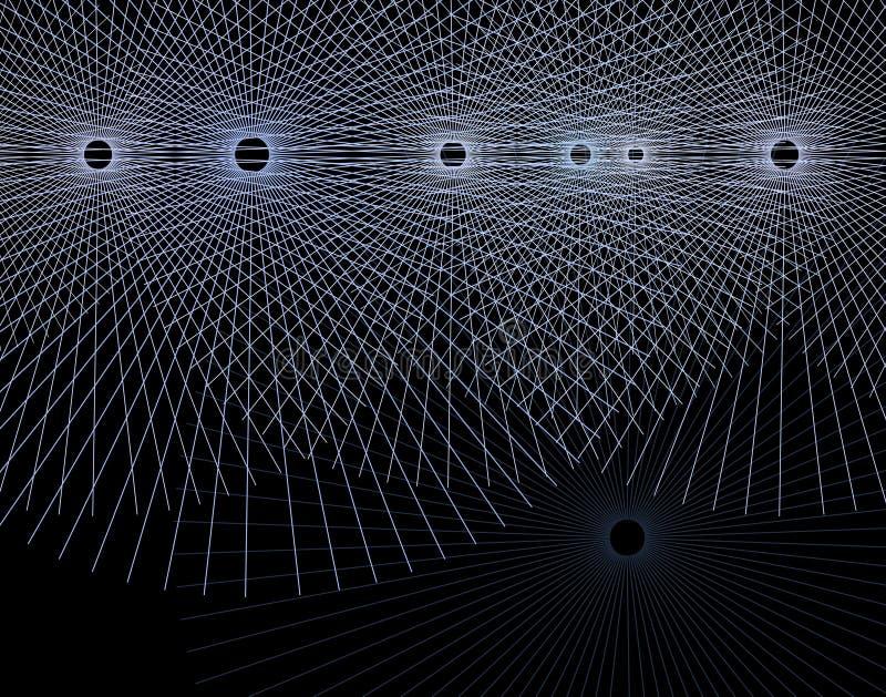 Line circles stock illustration