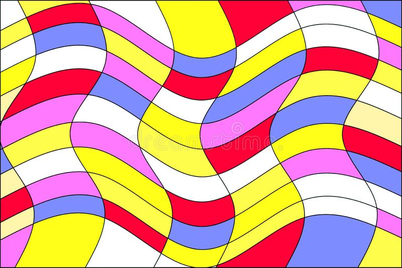 Line colorful patterns stock photos