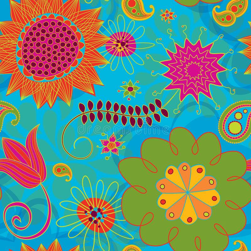 Download Line Doodles Bright Seamless Background Pattern Stock Photos - Image: 20673393