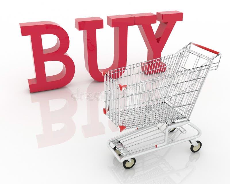 On-line-Einkaufen lizenzfreie stockbilder