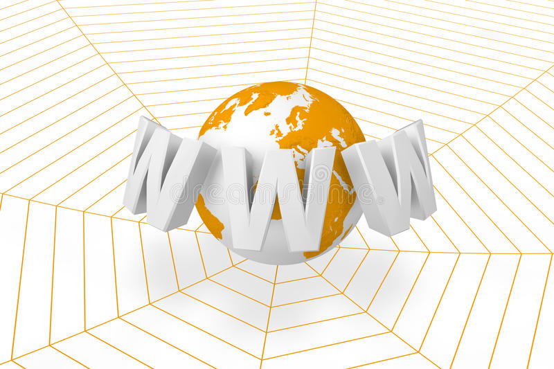 Download On-line network stock illustration. Image of online, programming - 11842282