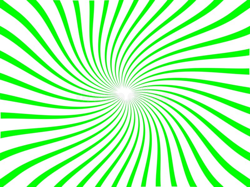 Line Nova with Whirl (Green). Background that is great for posters, wallpapers, backgrounds vector illustration