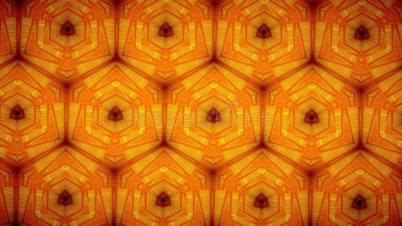 Line orange color pattern wallpaper. Abstract Line orange color pattern background stock image