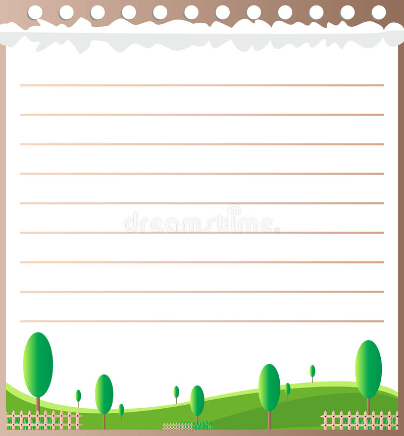 Line paper design. CAN BE USED BY MANY COMPANIES royalty free illustration