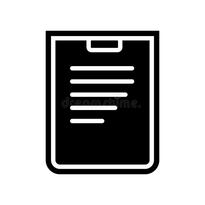 Line paper icon. Element of Finance for mobile concept and web apps icon. Glyph, flat icon for website design and development, app. Development on white royalty free illustration