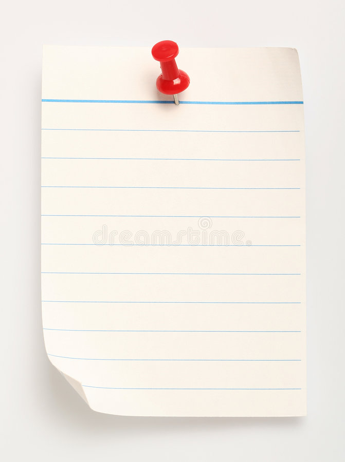 Free Line Paper (with Clipping Path) Stock Photos - 502863