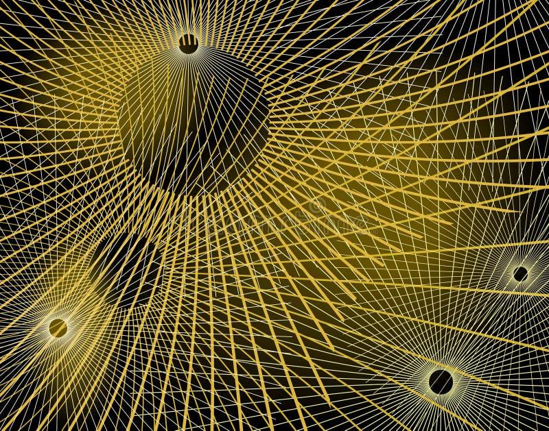 Line pattern vector illustration