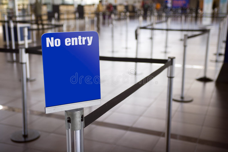 Line separator and sign stock photo