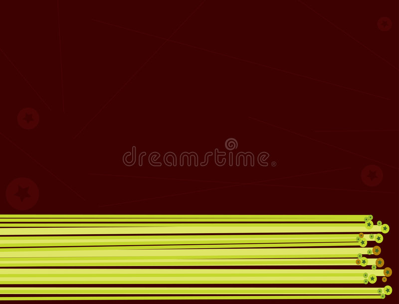 Line And Star Background 2 Royalty Free Stock Image