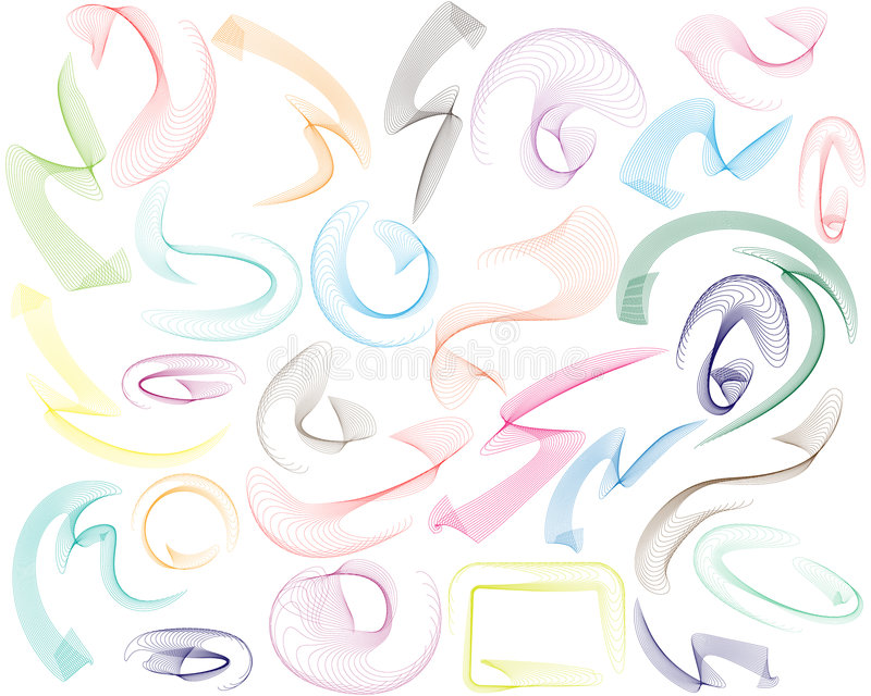 Download Line Swooshes Stock Photos - Image: 7828593
