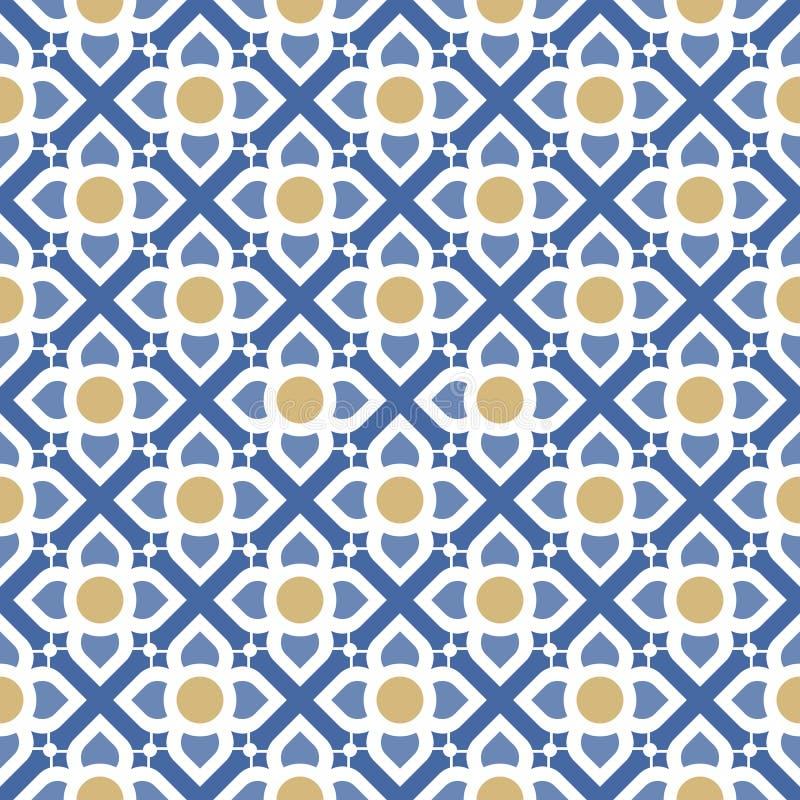 Line thai traditional seamless pattern vector illustration