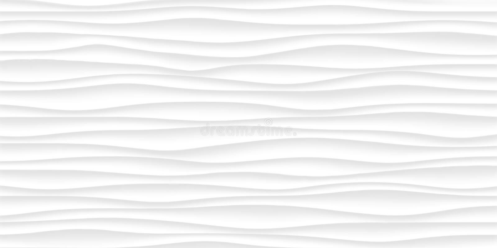 Line White texture. gray abstract pattern seamless. wave wavy na stock images
