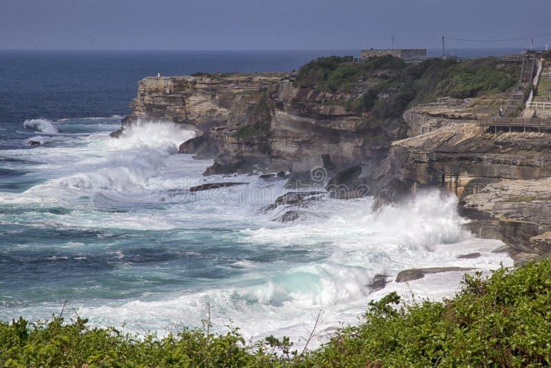 Linea costiera del Nuovo Galles del Sud fotografia stock