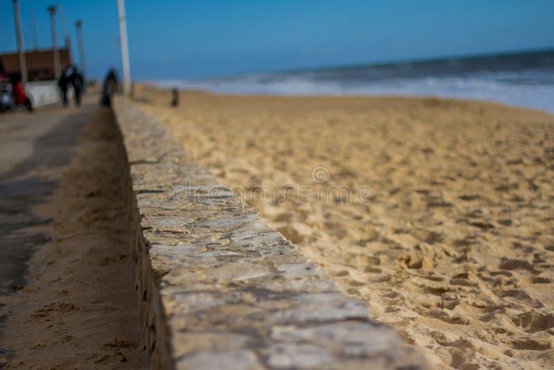 Linea costiera della spiaggia fotografie stock libere da diritti
