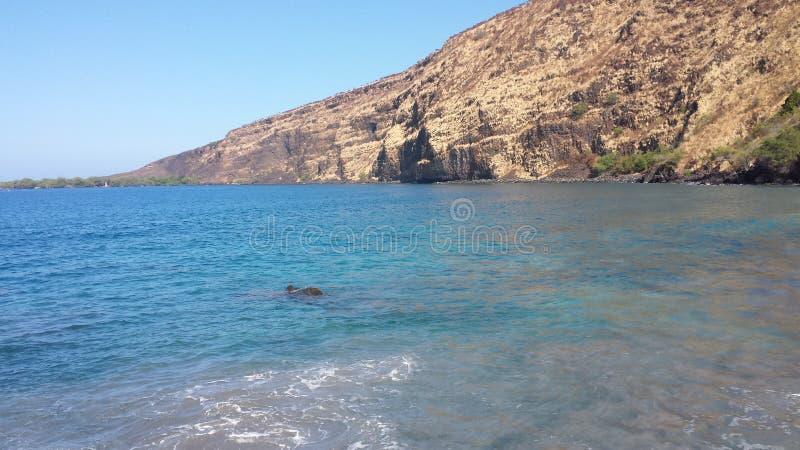 Linea costiera delle Hawai fotografie stock libere da diritti