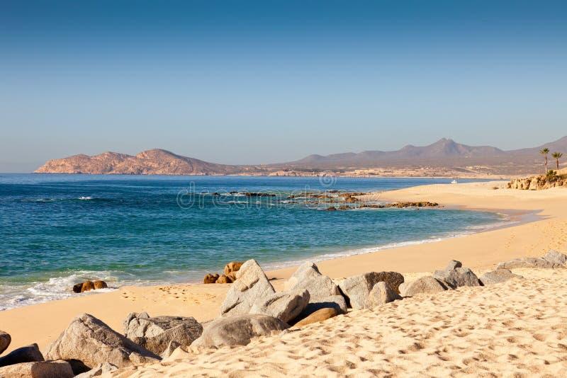 Linea costiera di Cabo San Lucas immagini stock libere da diritti