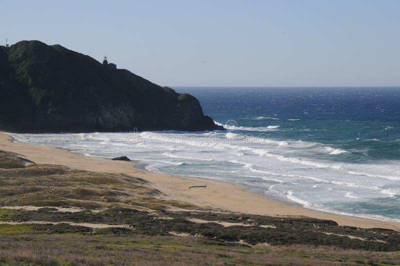 Linea costiera di California fotografie stock libere da diritti