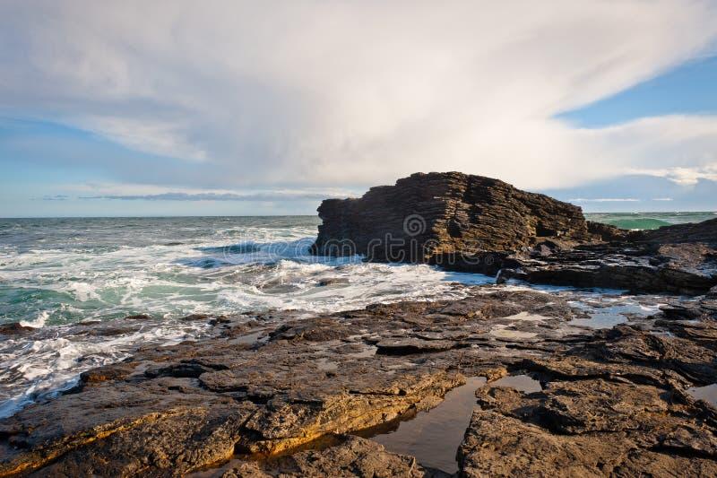 Linea costiera in Irlanda fotografia stock libera da diritti
