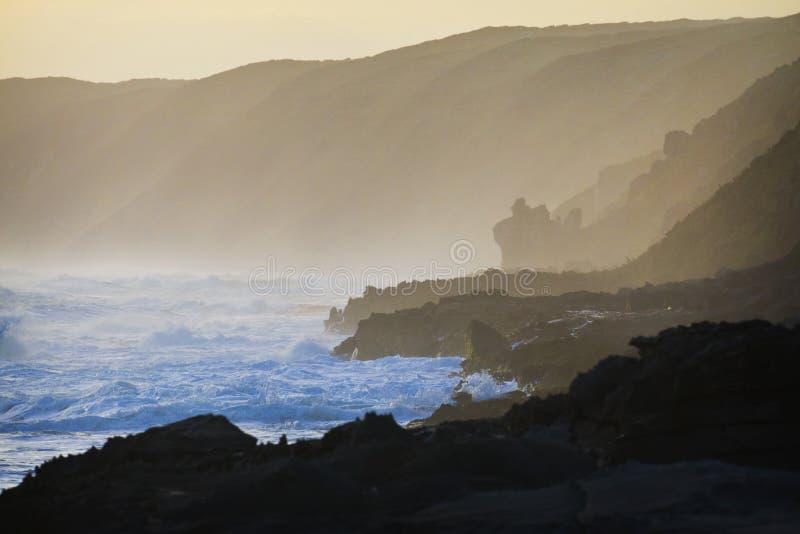Linea costiera scenica fotografie stock libere da diritti
