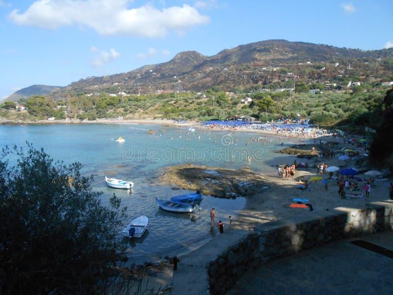 Linea costiera Sicilia fotografia stock libera da diritti