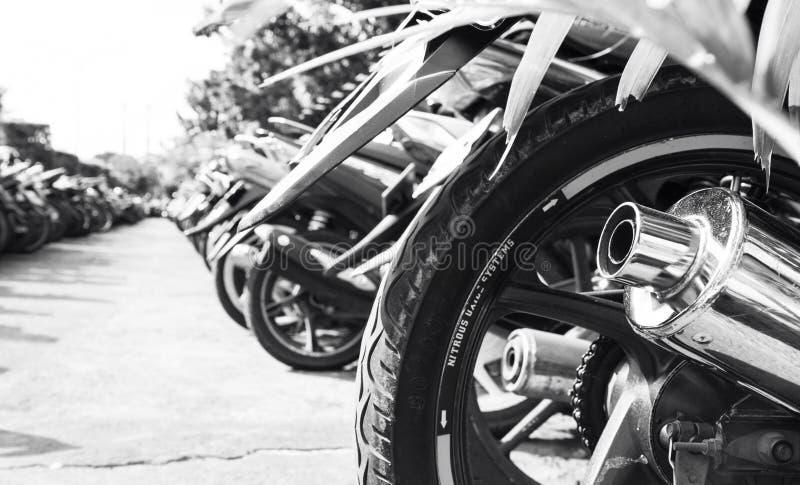 Linea della motocicletta fotografie stock libere da diritti
