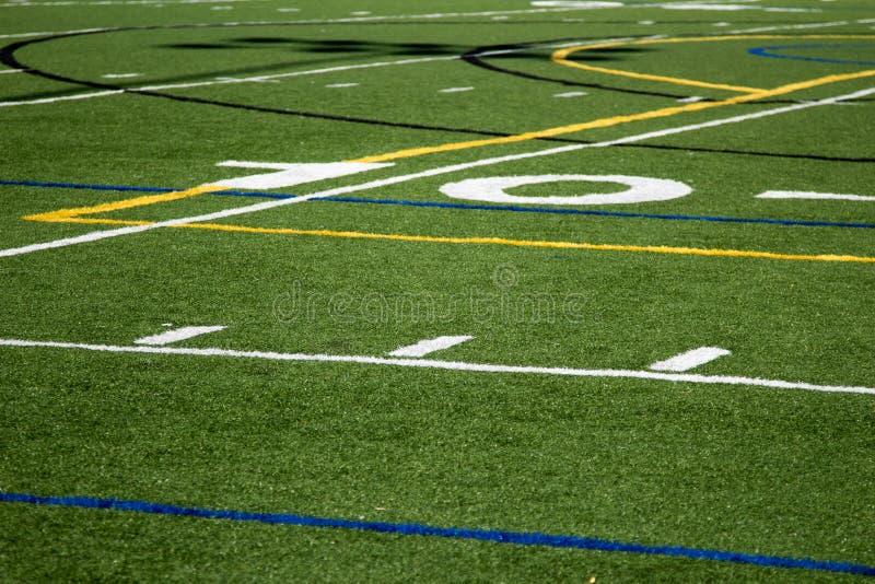 Linea delle yard 10 fotografie stock libere da diritti