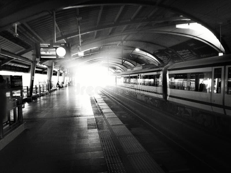Linea di città fotografie stock