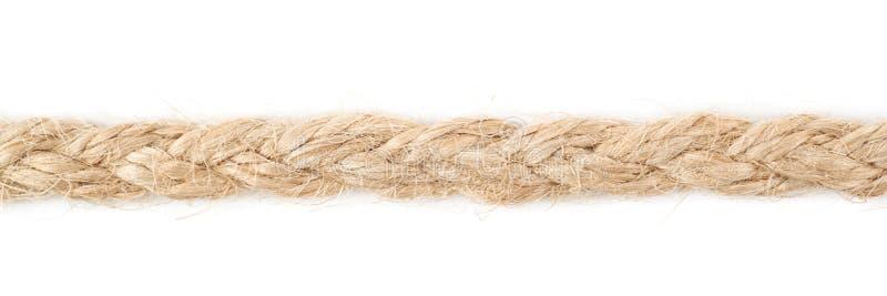 Linea di corda di tela della corda fotografia stock libera da diritti