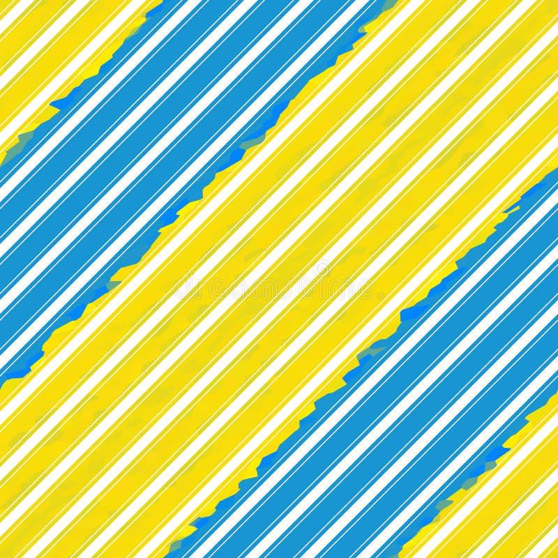 Linea diagonale modello senza cuciture, illustrazione della banda del biglietto da visita illustrazione di stock
