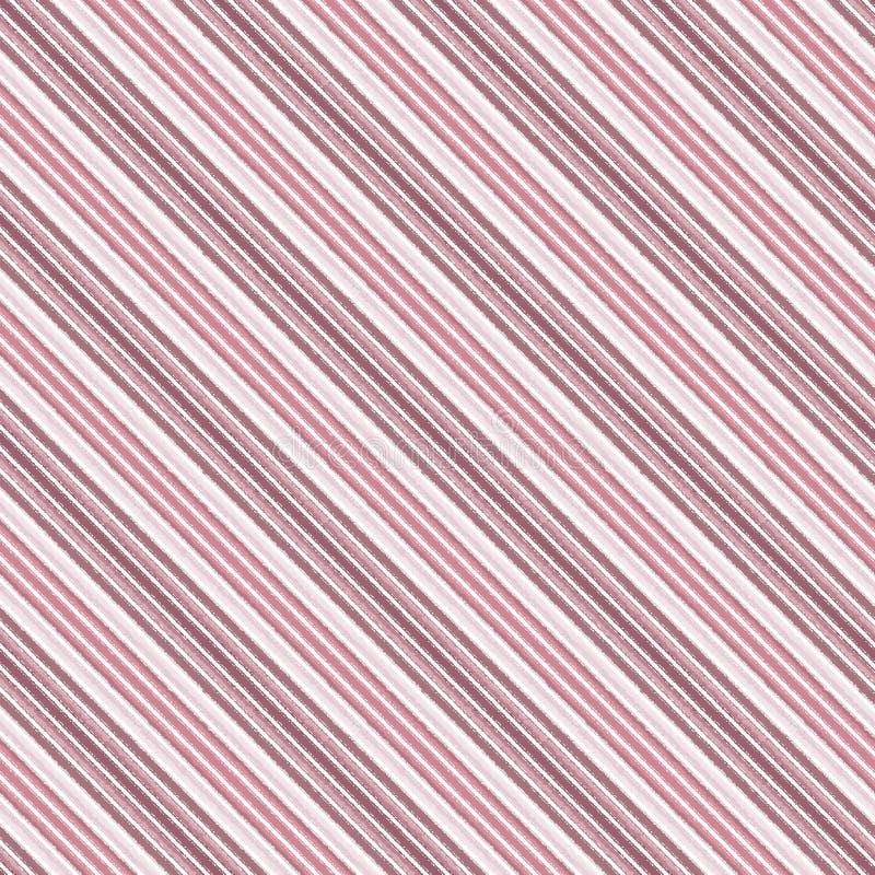 Linea diagonale modello senza cuciture, stile della banda del contesto illustrazione vettoriale