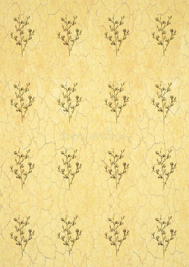 Linea grafica modello di fiori monocromatico di arte su un fondo bianco, bella illustrazione alimento vegetariano della frutta illustrazione vettoriale
