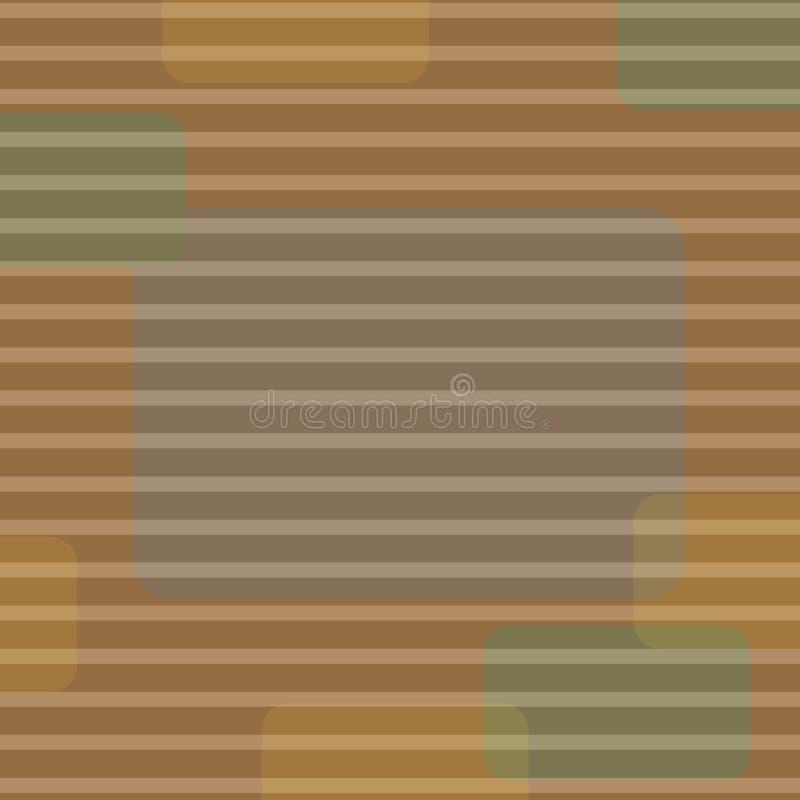 Linea horizontal ejemplo de un fondo del grunge del color amarillo rayos divergentes ilustración del vector