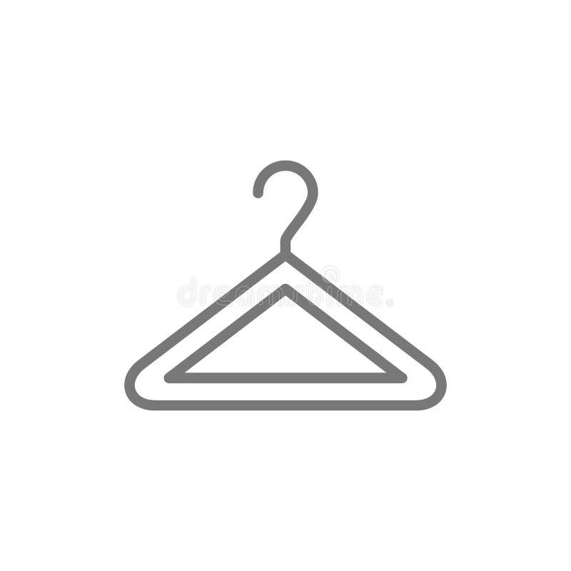 Linea icona del gancio royalty illustrazione gratis