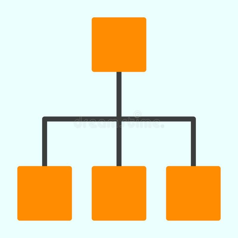 Linea icona della rete di computer Pittogramma minimo semplice 96x96 di vettore illustrazione vettoriale