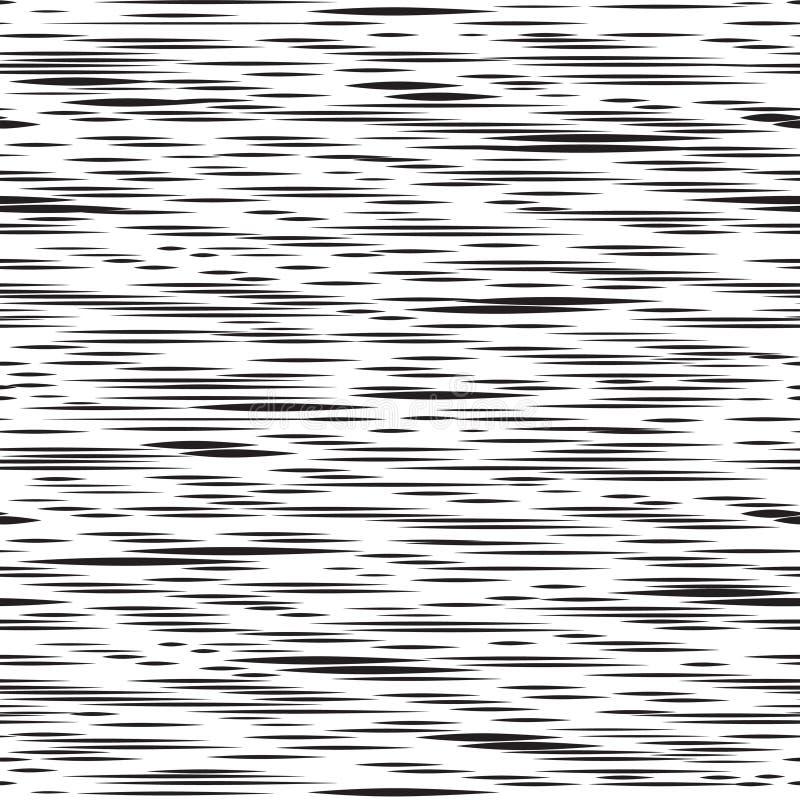 Linea irregolare astratta modello senza cuciture della banda Fondo della gocciolina illustrazione vettoriale