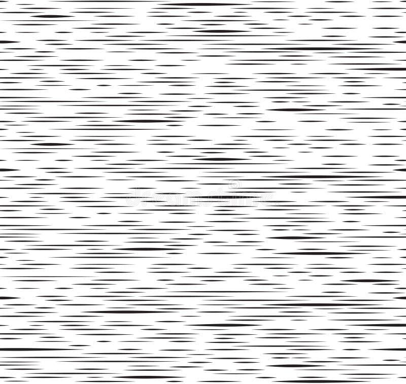 Linea irregolare astratta modello senza cuciture della banda Rebecca 36 illustrazione vettoriale