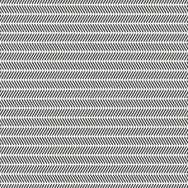 Linea monocromatica geometrica disegnata a mano dei pantaloni a vita bassa illustrazione vettoriale