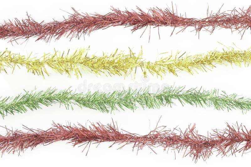 Linea rossa del lamé illustrazione vettoriale