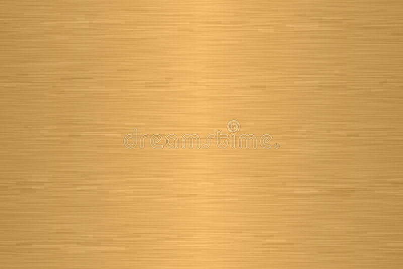 Lineair borstelmetaal stock illustratie