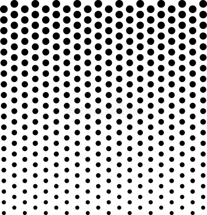 Lineair halftone patroon Cirkels, vlekken, stipachtergrond royalty-vrije illustratie